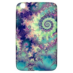 Violet Teal Sea Shells, Abstract Underwater Forest Samsung Galaxy Tab 3 (8 ) T3100 Hardshell Case