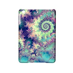 Violet Teal Sea Shells, Abstract Underwater Forest Apple iPad Mini 2 Hardshell Case