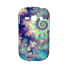 Violet Teal Sea Shells, Abstract Underwater Forest Samsung Galaxy S6810 Hardshell Case