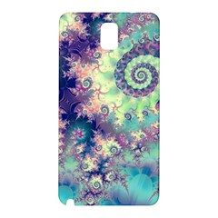 Violet Teal Sea Shells, Abstract Underwater Forest Samsung Galaxy Note 3 N9005 Hardshell Back Case