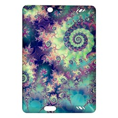 Violet Teal Sea Shells, Abstract Underwater Forest Kindle Fire HD 7  (2nd Gen) Hardshell Case