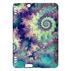 Violet Teal Sea Shells, Abstract Underwater Forest Kindle Fire Hdx 7  Hardshell Case