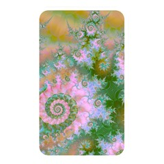 Rose Forest Green, Abstract Swirl Dance Memory Card Reader (Rectangular)