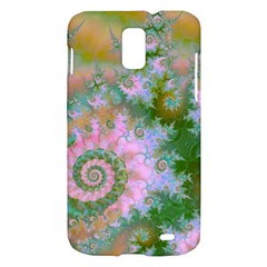 Rose Forest Green, Abstract Swirl Dance Samsung Galaxy S II Skyrocket Hardshell Case