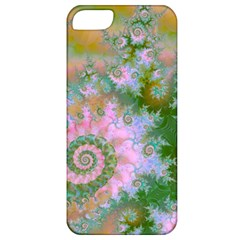 Rose Forest Green, Abstract Swirl Dance Apple Iphone 5 Classic Hardshell Case