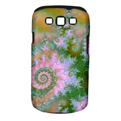 Rose Forest Green, Abstract Swirl Dance Samsung Galaxy S III Classic Hardshell Case (PC+Silicone)