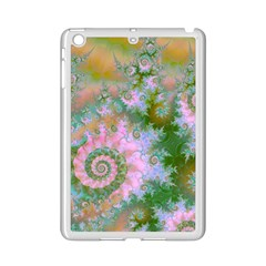 Rose Forest Green, Abstract Swirl Dance Apple Ipad Mini 2 Case (white)