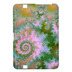 Rose Forest Green, Abstract Swirl Dance Kindle Fire HD 8.9  Hardshell Case