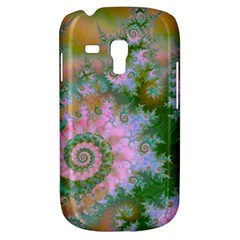 Rose Forest Green, Abstract Swirl Dance Samsung Galaxy S3 MINI I8190 Hardshell Case