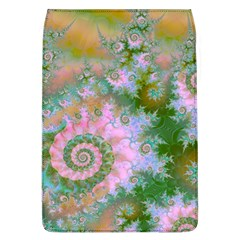 Rose Forest Green, Abstract Swirl Dance Removable Flap Cover (Large)