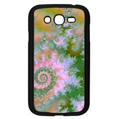 Rose Forest Green, Abstract Swirl Dance Samsung Galaxy Grand Duos I9082 Case (black)