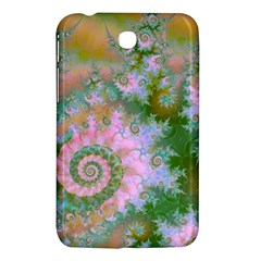 Rose Forest Green, Abstract Swirl Dance Samsung Galaxy Tab 3 (7 ) P3200 Hardshell Case