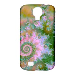 Rose Forest Green, Abstract Swirl Dance Samsung Galaxy S4 Classic Hardshell Case (PC+Silicone)