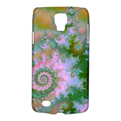 Rose Forest Green, Abstract Swirl Dance Samsung Galaxy S4 Active (I9295) Hardshell Case