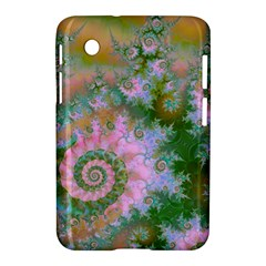 Rose Forest Green, Abstract Swirl Dance Samsung Galaxy Tab 2 (7 ) P3100 Hardshell Case