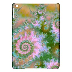 Rose Forest Green, Abstract Swirl Dance Apple Ipad Air Hardshell Case