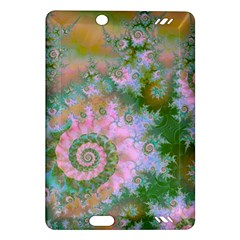 Rose Forest Green, Abstract Swirl Dance Kindle Fire Hd 7  (2nd Gen) Hardshell Case