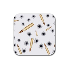 Bulletsnbulletholes Drink Coaster (square)