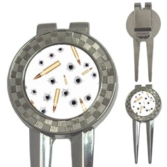 Bulletsnbulletholes Golf Pitchfork & Ball Marker