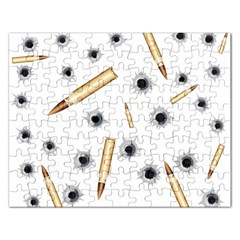 Bulletsnbulletholes Jigsaw Puzzle (rectangle)
