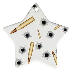 Bulletsnbulletholes Star Ornament (Two Sides)