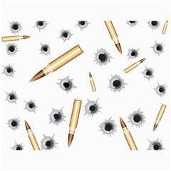 Bulletsnbulletholes Canvas 12  X 16  (unframed)