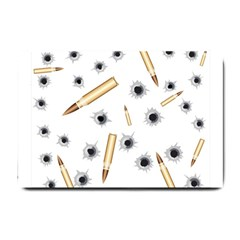 Bulletsnbulletholes Small Door Mat