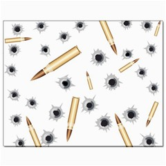 Bulletsnbulletholes Canvas 11  X 14  (unframed)