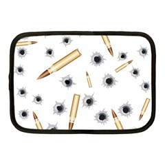 Bulletsnbulletholes Netbook Sleeve (Medium)