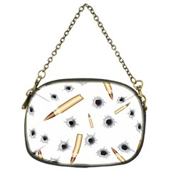 Bulletsnbulletholes Chain Purse (one Side)