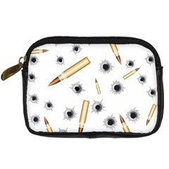Bulletsnbulletholes Digital Camera Leather Case