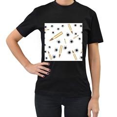 Bulletsnbulletholes Women s T Shirt (black)