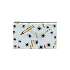 Bulletsnbulletholes Cosmetic Bag (small)