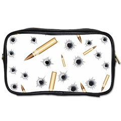 Bulletsnbulletholes Travel Toiletry Bag (Two Sides)