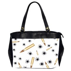 Bulletsnbulletholes Oversize Office Handbag (Two Sides)