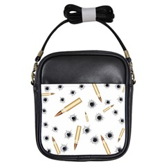 Bulletsnbulletholes Girl s Sling Bag