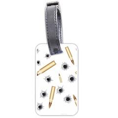 Bulletsnbulletholes Luggage Tag (One Side)