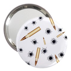 Bulletsnbulletholes 3  Handbag Mirror