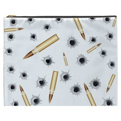 Bulletsnbulletholes Cosmetic Bag (xxxl)