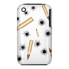 Bulletsnbulletholes Apple Iphone 3g/3gs Hardshell Case (pc+silicone)