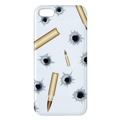 Bulletsnbulletholes Apple Iphone 5 Premium Hardshell Case