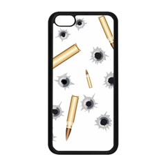 Bulletsnbulletholes Apple iPhone 5C Seamless Case (Black)