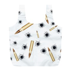 Bulletsnbulletholes Reusable Bag (L)