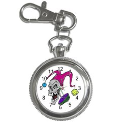 Vaping Jester Key Chain Watch