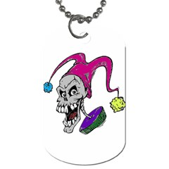Vaping Jester Dog Tag (two Sided)