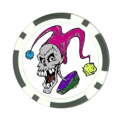 Vaping Jester Poker Chip
