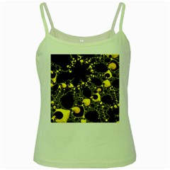 Special Fractal 04 Yellow Green Spaghetti Tank