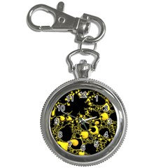 Special Fractal 04 Yellow Key Chain Watch