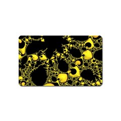 Special Fractal 04 Yellow Magnet (name Card)