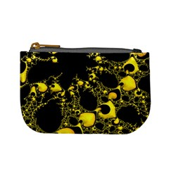 Special Fractal 04 Yellow Coin Change Purse